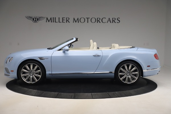 Used 2017 Bentley Continental GT Convertible W12 for sale $169,900 at Aston Martin of Greenwich in Greenwich CT 06830 3
