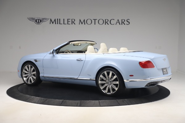 Used 2017 Bentley Continental GT Convertible W12 for sale $169,900 at Aston Martin of Greenwich in Greenwich CT 06830 4