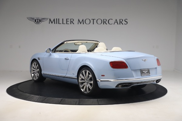 Used 2017 Bentley Continental GT Convertible W12 for sale $169,900 at Aston Martin of Greenwich in Greenwich CT 06830 5