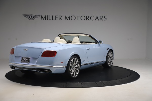 Used 2017 Bentley Continental GT Convertible W12 for sale $169,900 at Aston Martin of Greenwich in Greenwich CT 06830 8