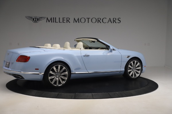 Used 2017 Bentley Continental GT Convertible W12 for sale $169,900 at Aston Martin of Greenwich in Greenwich CT 06830 9
