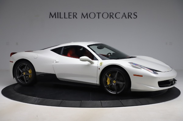 Used 2013 Ferrari 458 Italia for sale $229,900 at Aston Martin of Greenwich in Greenwich CT 06830 10