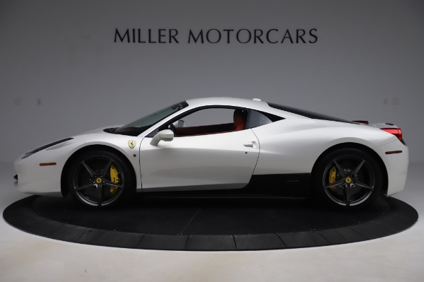 Used 2013 Ferrari 458 Italia for sale $229,900 at Aston Martin of Greenwich in Greenwich CT 06830 3