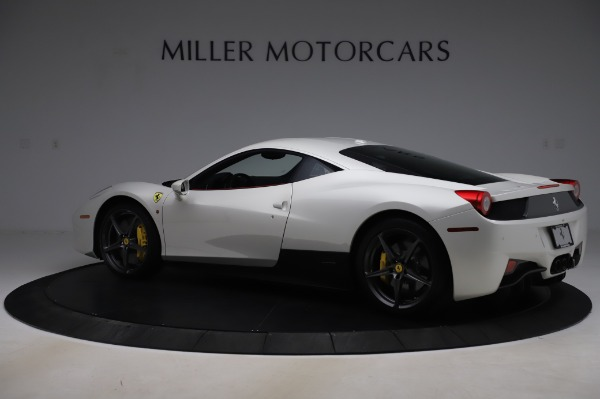 Used 2013 Ferrari 458 Italia for sale $229,900 at Aston Martin of Greenwich in Greenwich CT 06830 4