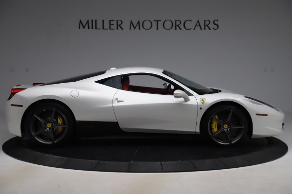 Used 2013 Ferrari 458 Italia for sale $229,900 at Aston Martin of Greenwich in Greenwich CT 06830 9