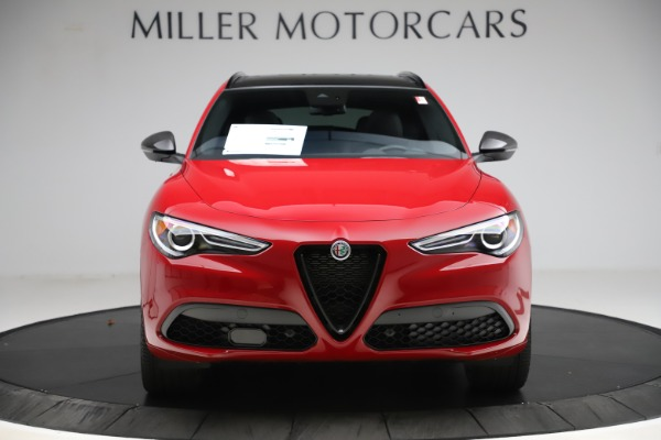 New 2020 Alfa Romeo Stelvio Ti Sport Carbon Q4 for sale $58,745 at Aston Martin of Greenwich in Greenwich CT 06830 12