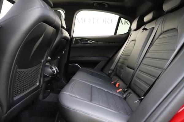 New 2020 Alfa Romeo Stelvio Ti Sport Carbon Q4 for sale $58,745 at Aston Martin of Greenwich in Greenwich CT 06830 19