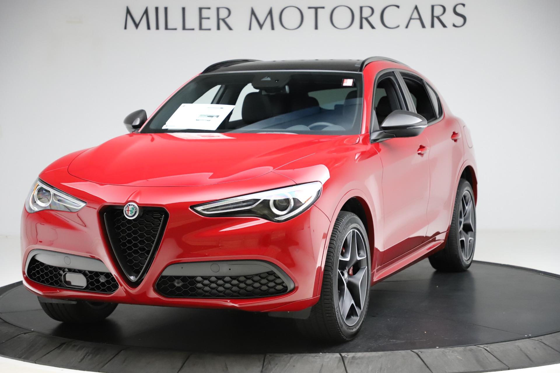 New 2020 Alfa Romeo Stelvio Ti Sport Carbon Q4 for sale $58,745 at Aston Martin of Greenwich in Greenwich CT 06830 1