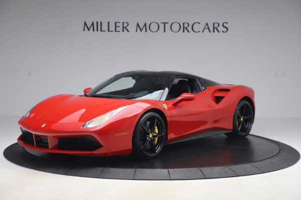 Used 2018 Ferrari 488 Spider for sale $286,900 at Aston Martin of Greenwich in Greenwich CT 06830 12