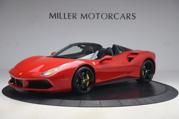Used 2018 Ferrari 488 Spider for sale $286,900 at Aston Martin of Greenwich in Greenwich CT 06830 2