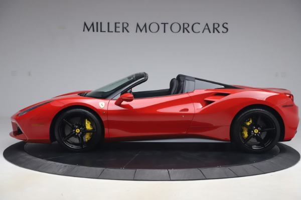 Used 2018 Ferrari 488 Spider for sale $286,900 at Aston Martin of Greenwich in Greenwich CT 06830 3