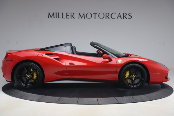 Used 2018 Ferrari 488 Spider for sale $286,900 at Aston Martin of Greenwich in Greenwich CT 06830 9