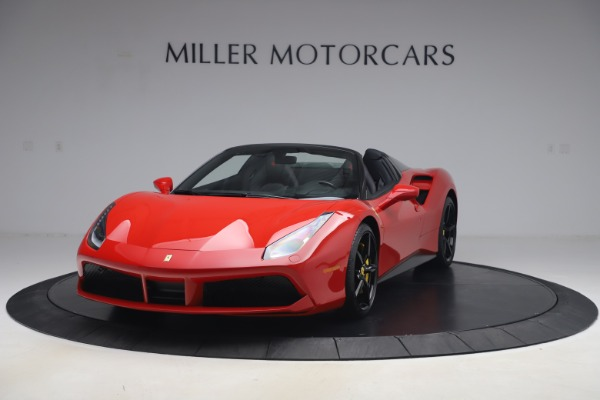 Used 2018 Ferrari 488 Spider for sale $286,900 at Aston Martin of Greenwich in Greenwich CT 06830 1