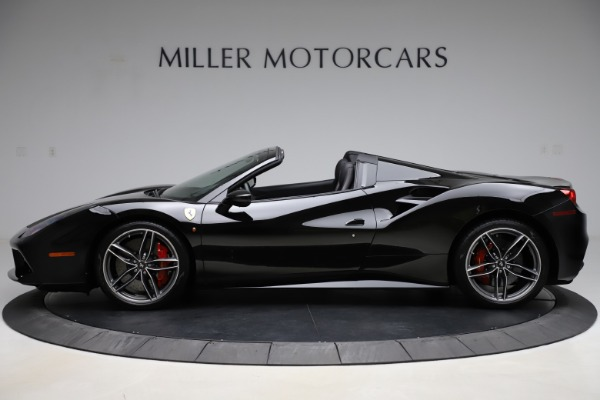 Used 2017 Ferrari 488 Spider for sale $276,900 at Aston Martin of Greenwich in Greenwich CT 06830 3