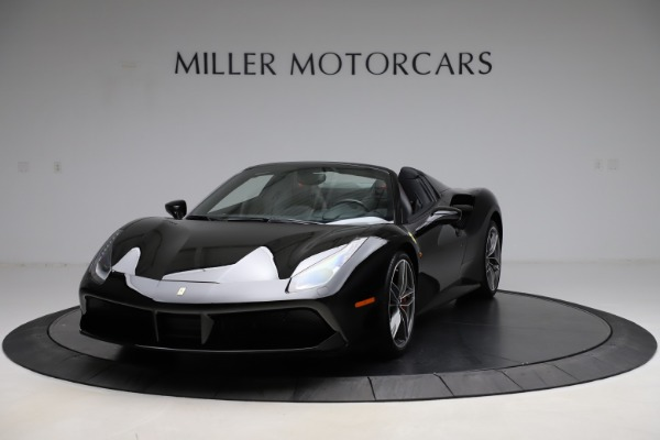 Used 2017 Ferrari 488 Spider for sale $276,900 at Aston Martin of Greenwich in Greenwich CT 06830 1