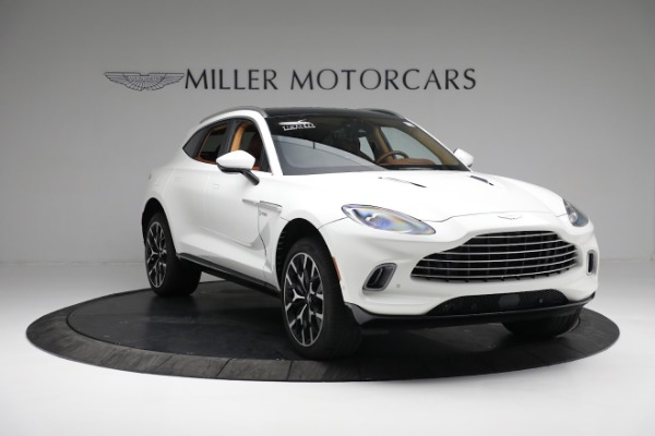 New 2021 Aston Martin DBX for sale $211,636 at Aston Martin of Greenwich in Greenwich CT 06830 10