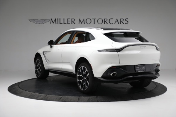 New 2021 Aston Martin DBX for sale $211,636 at Aston Martin of Greenwich in Greenwich CT 06830 4