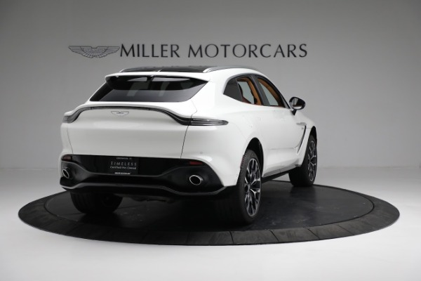 New 2021 Aston Martin DBX for sale $211,636 at Aston Martin of Greenwich in Greenwich CT 06830 6