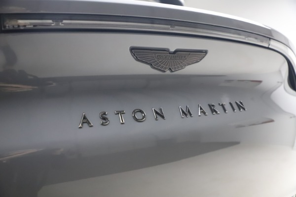 New 2021 Aston Martin DBX for sale $194,486 at Aston Martin of Greenwich in Greenwich CT 06830 22