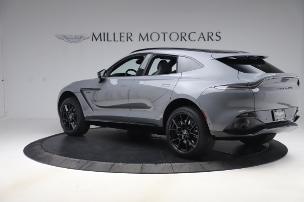 New 2021 Aston Martin DBX SUV for sale $194,486 at Aston Martin of Greenwich in Greenwich CT 06830 3