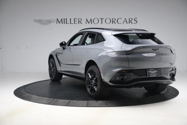 New 2021 Aston Martin DBX SUV for sale $194,486 at Aston Martin of Greenwich in Greenwich CT 06830 4
