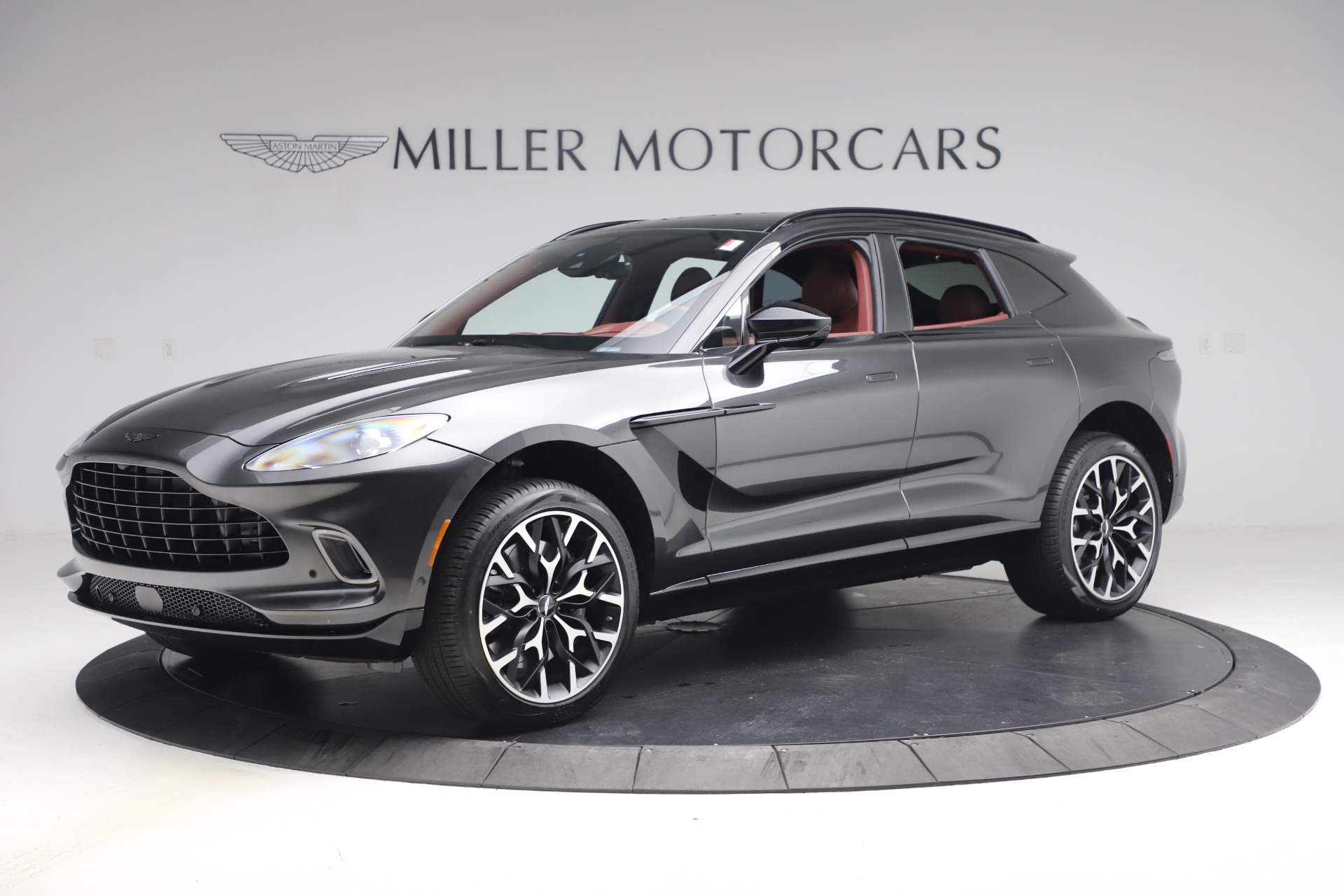 New 2021 Aston Martin DBX for sale $224,886 at Aston Martin of Greenwich in Greenwich CT 06830 1