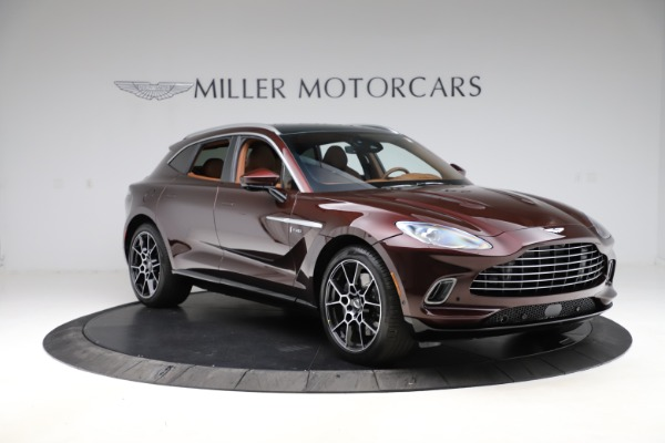 New 2021 Aston Martin DBX for sale $226,836 at Aston Martin of Greenwich in Greenwich CT 06830 10
