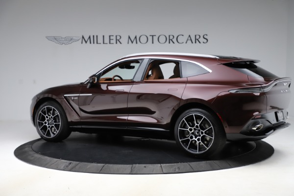 New 2021 Aston Martin DBX for sale $226,836 at Aston Martin of Greenwich in Greenwich CT 06830 3