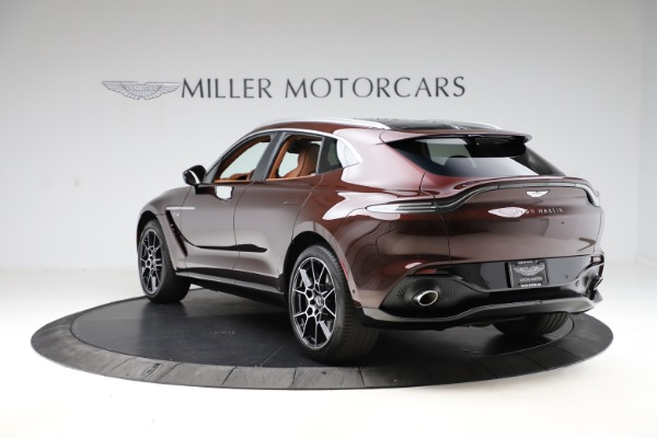 New 2021 Aston Martin DBX for sale $226,836 at Aston Martin of Greenwich in Greenwich CT 06830 4