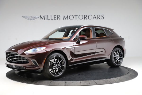 New 2021 Aston Martin DBX for sale $226,836 at Aston Martin of Greenwich in Greenwich CT 06830 1