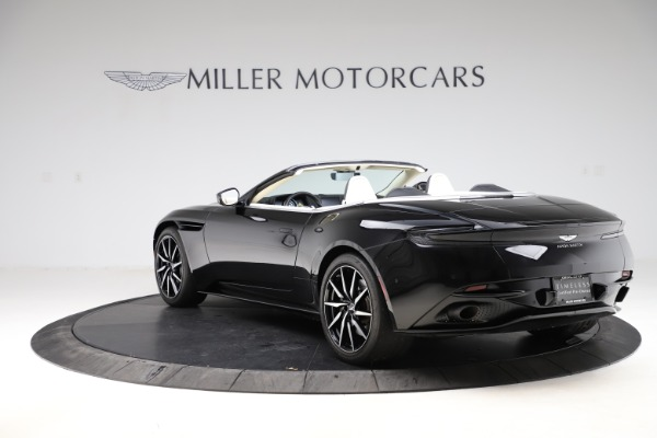 Used 2020 Aston Martin DB11 Volante for sale $209,900 at Aston Martin of Greenwich in Greenwich CT 06830 4