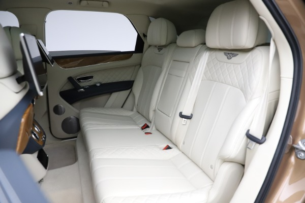 Used 2017 Bentley Bentayga W12 for sale $145,900 at Aston Martin of Greenwich in Greenwich CT 06830 22