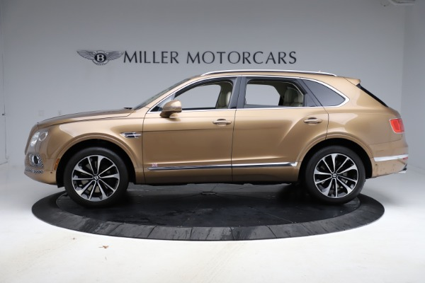 Used 2017 Bentley Bentayga W12 for sale $145,900 at Aston Martin of Greenwich in Greenwich CT 06830 3