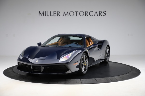 Used 2018 Ferrari 488 Spider for sale Call for price at Aston Martin of Greenwich in Greenwich CT 06830 13