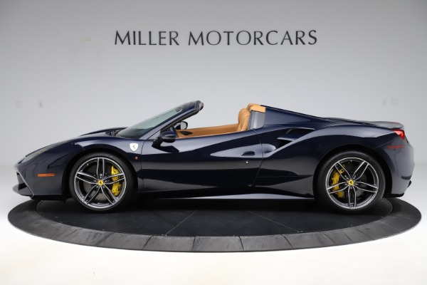 Used 2018 Ferrari 488 Spider for sale Call for price at Aston Martin of Greenwich in Greenwich CT 06830 3