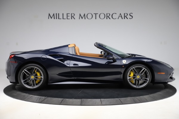 Used 2018 Ferrari 488 Spider for sale Call for price at Aston Martin of Greenwich in Greenwich CT 06830 9
