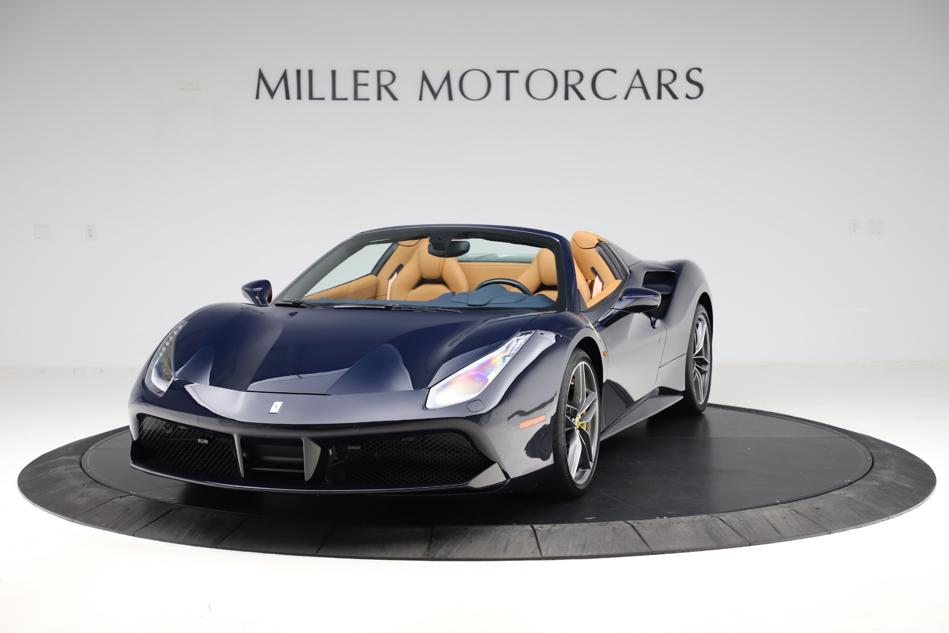 Used 2018 Ferrari 488 Spider for sale Call for price at Aston Martin of Greenwich in Greenwich CT 06830 1
