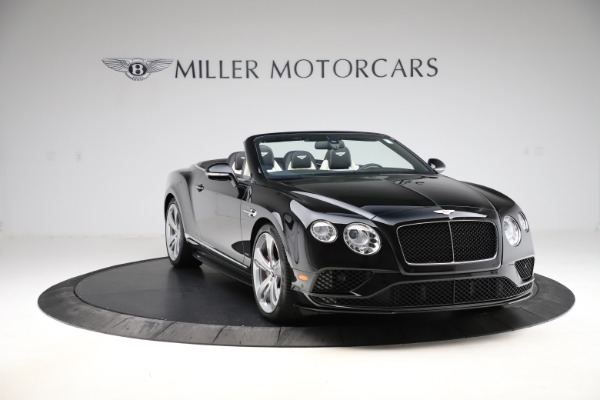 Used 2017 Bentley Continental GTC V8 S for sale $159,900 at Aston Martin of Greenwich in Greenwich CT 06830 11
