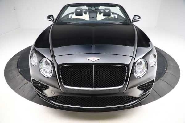 Used 2017 Bentley Continental GTC V8 S for sale $159,900 at Aston Martin of Greenwich in Greenwich CT 06830 19