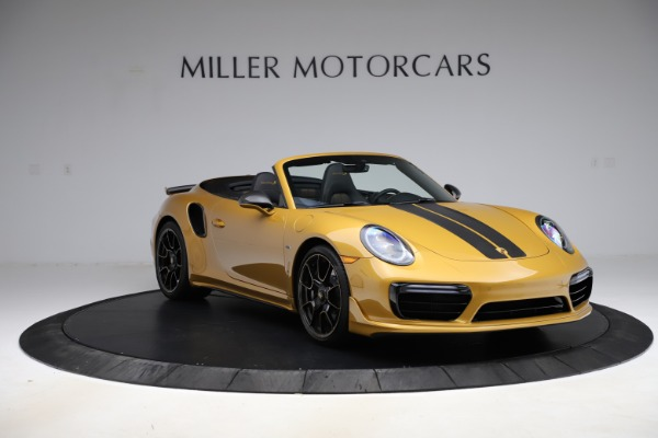 Used 2019 Porsche 911 Turbo S Exclusive for sale $249,900 at Aston Martin of Greenwich in Greenwich CT 06830 11