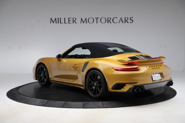Used 2019 Porsche 911 Turbo S Exclusive for sale $249,900 at Aston Martin of Greenwich in Greenwich CT 06830 14