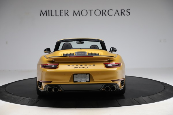Used 2019 Porsche 911 Turbo S Exclusive for sale $249,900 at Aston Martin of Greenwich in Greenwich CT 06830 6