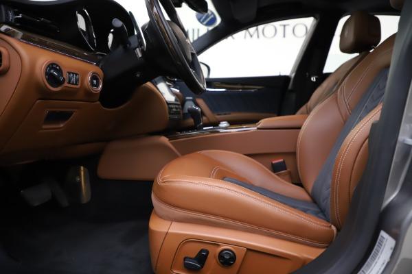 Used 2017 Maserati Quattroporte S Q4 GranLusso for sale $59,900 at Aston Martin of Greenwich in Greenwich CT 06830 14