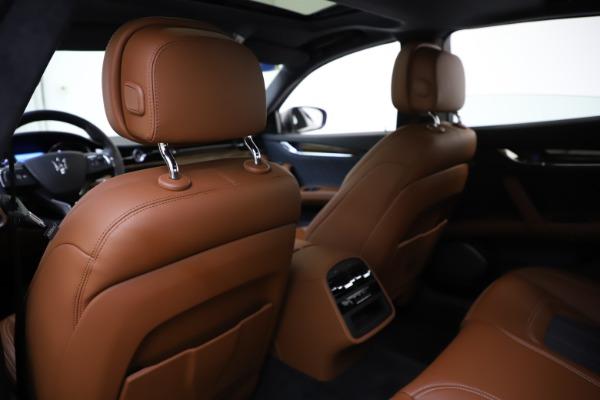 Used 2017 Maserati Quattroporte S Q4 GranLusso for sale $59,900 at Aston Martin of Greenwich in Greenwich CT 06830 20