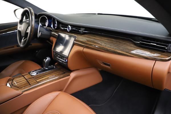 Used 2017 Maserati Quattroporte S Q4 GranLusso for sale $59,900 at Aston Martin of Greenwich in Greenwich CT 06830 22