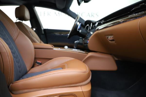 Used 2017 Maserati Quattroporte S Q4 GranLusso for sale $59,900 at Aston Martin of Greenwich in Greenwich CT 06830 23
