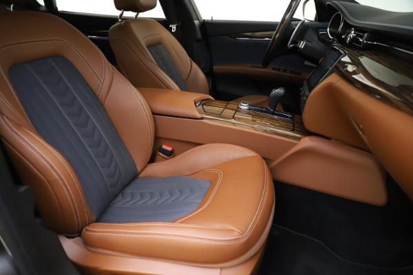 Used 2017 Maserati Quattroporte S Q4 GranLusso for sale $59,900 at Aston Martin of Greenwich in Greenwich CT 06830 24