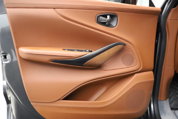 New 2021 Aston Martin DBX SUV for sale $229,486 at Aston Martin of Greenwich in Greenwich CT 06830 15