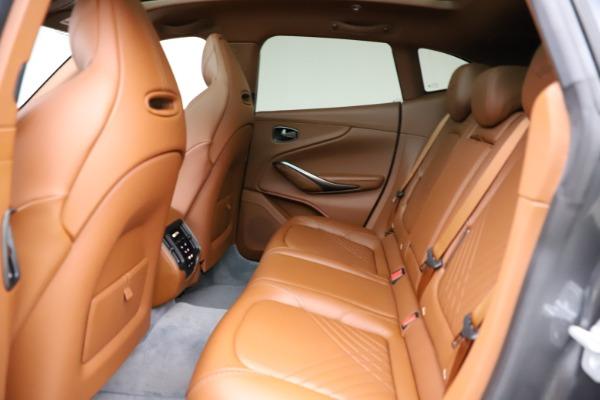 New 2021 Aston Martin DBX SUV for sale $229,486 at Aston Martin of Greenwich in Greenwich CT 06830 16