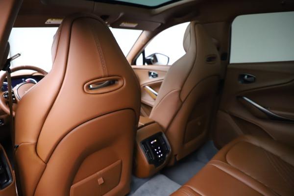 New 2021 Aston Martin DBX SUV for sale $229,486 at Aston Martin of Greenwich in Greenwich CT 06830 17